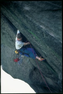 Me on Ramshaw crack whilst writing the Ramshaw section for the Staffordshire Guide