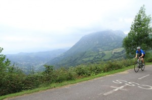 Stunning views and reasonable riding, Angiliru reels you in...