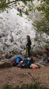 3 Mums climbing with their 4 kids - mission accomplished!