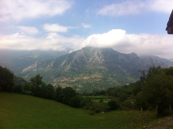 views from Bermiego, Quiros